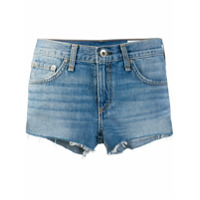 Rag & Bone Short Brandon - Azul