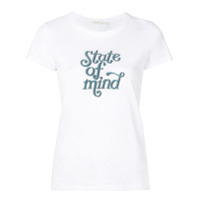 Rag & Bone Camiseta State Of Mind - Branco
