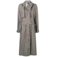 Rag & Bone Trench Coat Acinturado - Verde