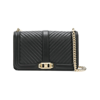 Rebecca Minkoff Love Shoulder Bag - Preto