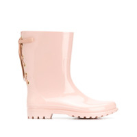 Red Valentino Redvalentino Lace-Up Detail Wellies - Rosa
