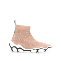 Red Valentino Sock Sneakers - Rosa