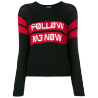 Red Valentino Suéter Follow Me Now - Preto