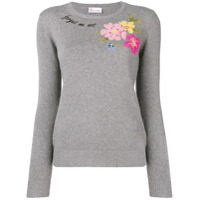 Redvalentino Suéter 'forget Me Not' - Cinza