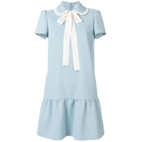 Red Valentino Techno Fluid Shirt Dress - Azul