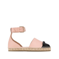 Red Valentino Espadrille Bicolor - Neutro
