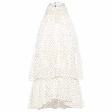 Regata Feminina Babado - Off White
