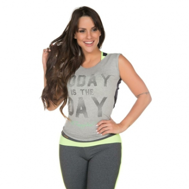 Regata Fit Training Brasil Power Today Feminina-Feminino