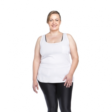 Regata Fitness Plus Size Tocket - Preta - Ps-Feminino