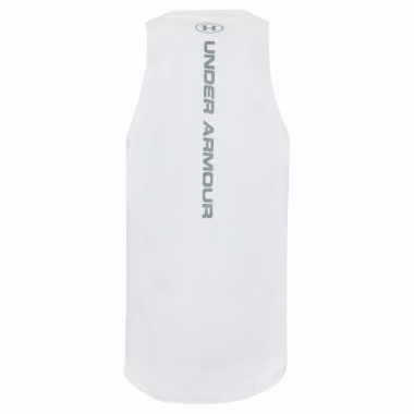 Regata Masculina Baseline Cotton Tank - Off White