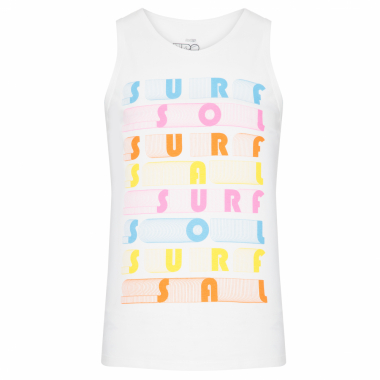 Regata Masculina Silk Surf - Off White