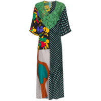 Rianna + Nina Vestido Kaftan Estampado - Multicoloured