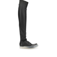 Rick Owens Bota Over The Knee - Black