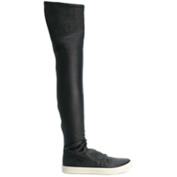 Rick Owens Bota Over The Knee - Preto