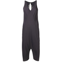 Rick Owens Cropped Jumpsuit - Cinza