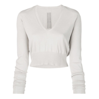 Rick Owens Cropped Pullover - Neutro