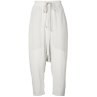 Rick Owens Cropped Trousers - Neutro