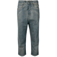 Rick Owens Drkshdw Cropped Jeans - Azul