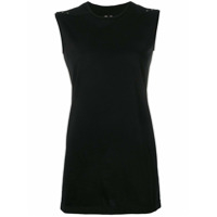 Rick Owens Fitted Tank Top - Preto