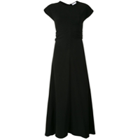 Rosetta Getty Vestido Camiseta - Preto