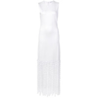 Rosetta Getty Vestido Slim - White