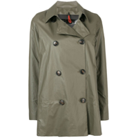 Rrd Trench Coat Curto - Cinza