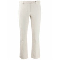 's Max Mara Cropped Cigarette Trousers - Neutro