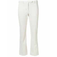 'S Max Mara cropped slim fit trousers - Neutro