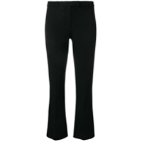 's Max Mara Cropped Slim-Fit Trousers - Preto