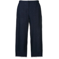 's Max Mara Cropped Trousers - Azul