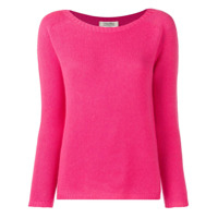 's Max Mara Long-Sleeve Fitted Sweater - Rosa