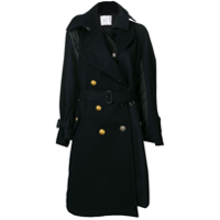 Sacai Belted Trench Coat - Azul