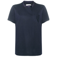Sacai Boxy Fit T-Shirt - Azul