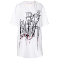 Sacai Camiseta 'a Day In The Life' - Branco
