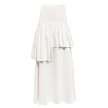 Saia Longa Ascot Adriana Degreas - Off White