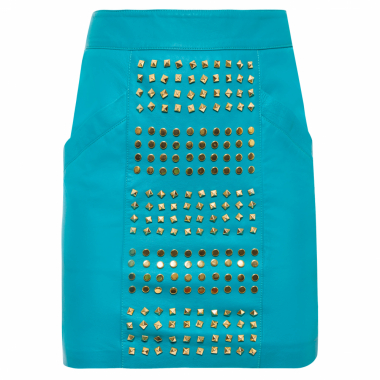 Saia Mini Spikes - Azul