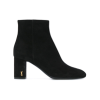 Saint Laurent Ankle Boot 'loulou 95' - Preto