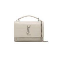 Saint Laurent Bolsa Tiracolo 'sunset' - Branco