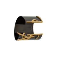 Saint Laurent Bracelete 'monogram' - Preto