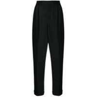 Saint Laurent Calça Cropped - Preto