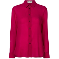 Saint Laurent Camisa Lisa - Rosa