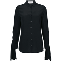 Saint Laurent Camisa Slim - Preto
