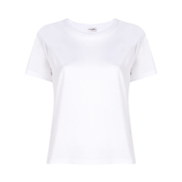 Saint Laurent Camiseta Mangas Curtas - Branco