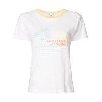 Saint Laurent Camiseta 'waiting For Sunset' - Branco