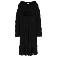 Saint Laurent Cardigan Oversized - Preto