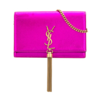 Saint Laurent Bolsa Tiracolo 'kate' - Rosa