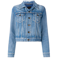 Saint Laurent Classic Denim Jacket - Azul