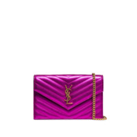 Saint Laurent Clutch Envelope Mini - Rosa