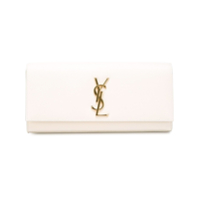 Saint Laurent Clutch 'kate' - Branco