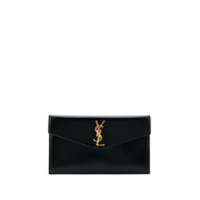 Saint Laurent Envelope Clutch Bag - Preto